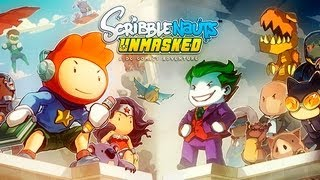 Scribblenauts Unmasked Gameplay - Español Review Lets Play Pc - Parte 1