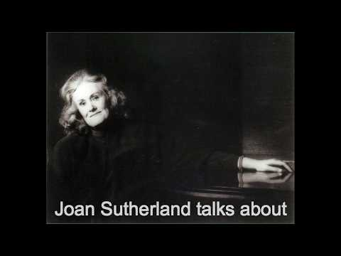 Joan Sutherland talks about La Traviata