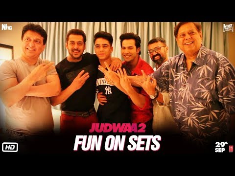 Judwaa 2  Fun On Sets  Varun  Jacqueline  Taapsee  David Dhawan