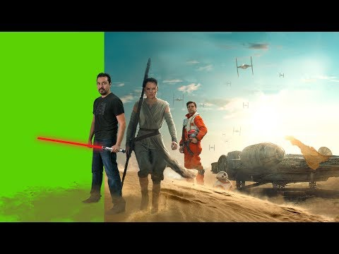 How I Green Screen (Chroma Key) in Adobe Premiere Pro CC 2017