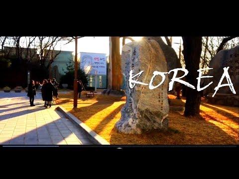 winter south Korea