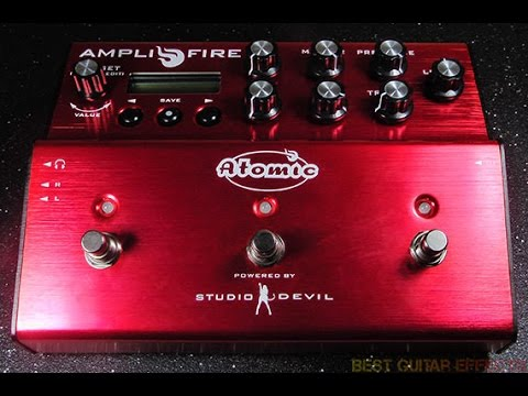 Atomic AmpliFire pedal threw Cheap computer speakers. Blizzard outside, Noodling inside.