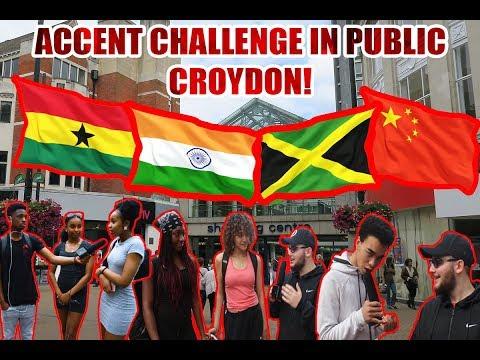 Accent Challenge In Public - Croydon PT3