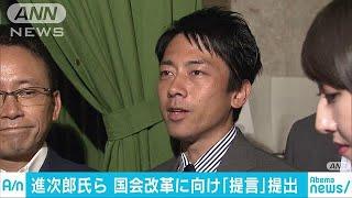 進次郎議員ら 議長らに国会改革提言(18/07/21) thumbnail