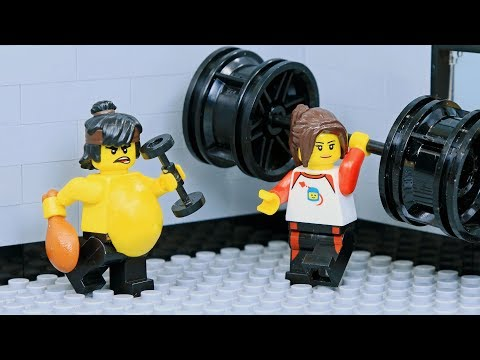 Brick Channel Lego Ninja Go Gym Not Fail: Goodbye Fat Ninja