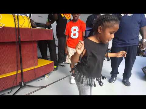 LITTLE GIRL WINS IN DANCING  competition  IN LIBERTY CITY 15TH AVE