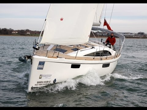 Yachting Monthly 39 S Bavaria 42 Vision Test Youtube
