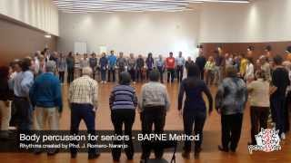 Body percussion for Elderly people - Cai Cai - BAPNE Method