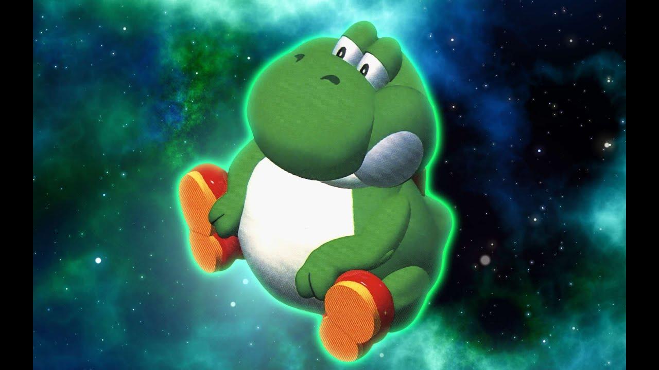 mr blue sky fat yoshi meme