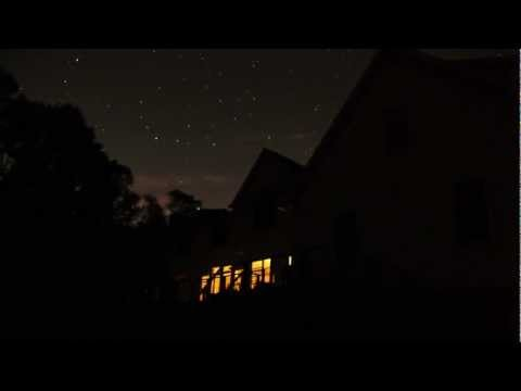 Time Lapse Stars Video - Starry Night Astrophotography in Ivoryton, Connecticut