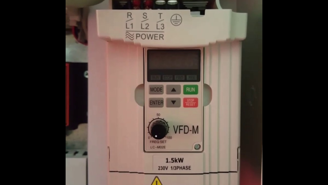 Rs485 In Delta Vfd M Youtube