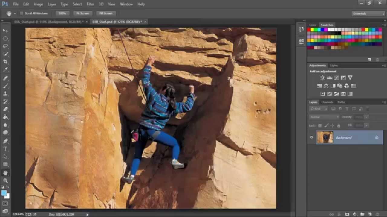شرح برنامج فوتوشوب Photoshop cc درس تعديل مشاكل الصور