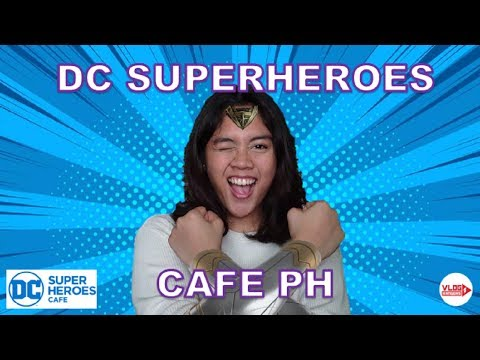 DC SUPERHEROES CAFE | PROMO