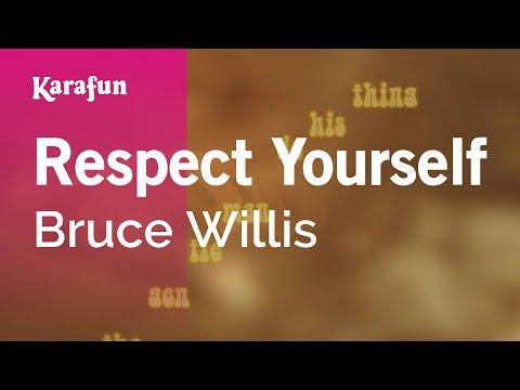 Karaoke Respect Yourself - Bruce Willis *