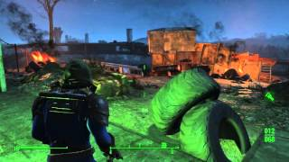 Fallout 4 - Jalbert Brothers Disposel: Preston Harvey Rabid Mole Rats Combat, Child of Atom Looted