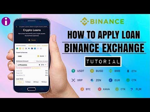 How to Apply CRYPTO LOAN on BINANCE EXCHANGE | Borrow Crypto /Stablecoin | App Tutorial