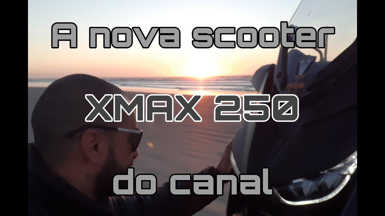 XMAX 250 - Apresentando a nova scooter do canal