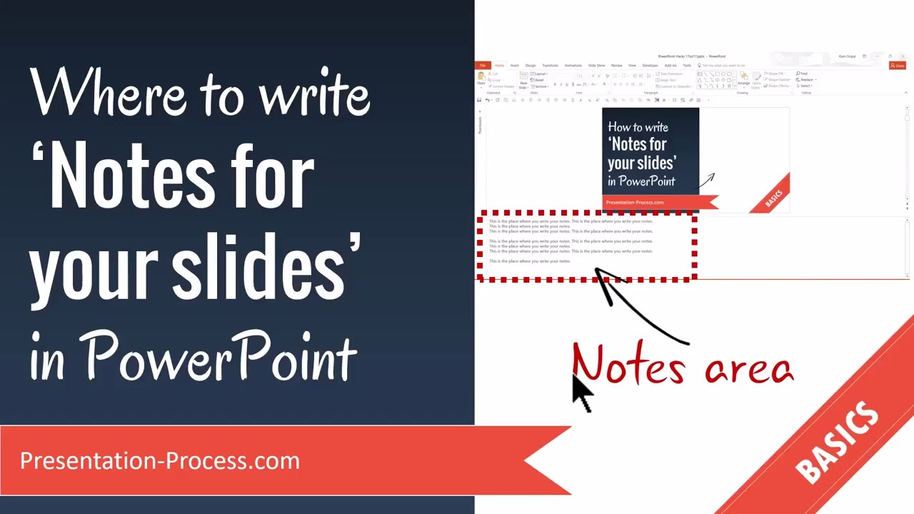 how to write a powerpoint presentation