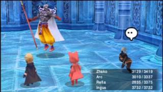 Final Fantasy III [PSP] BOSS: Xande & Getting ass kicked by Cloud of Darkness