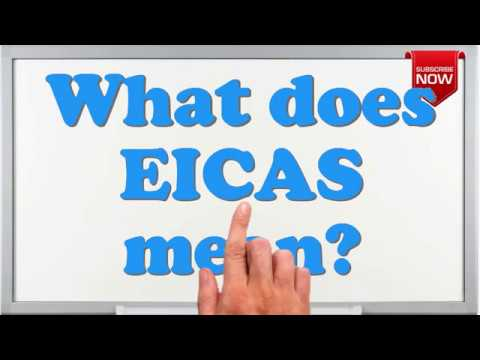 What is the full form of EICAS?