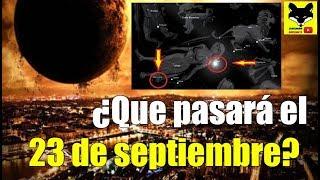 ¿Qué va a pasar el 23 de Septiembre? FALSO: Día en que todos los males azotarán al planeta tierra.