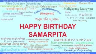 Samarpita   Languages Idiomas - Happy Birthday