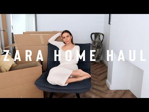 A BIG ZARA HOME HAUL + MY NEXT HOUSE PROJECT | Suzie Bonaldi