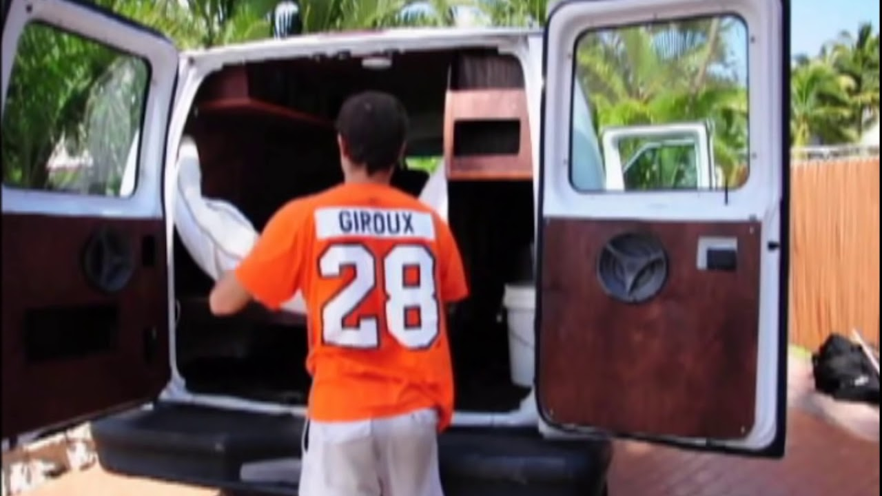 Magic Bus A Cargo Van Conversion Wmv Youtube