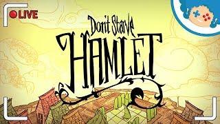 Don't Starve: Hamlet NA ŻYWCA #1 - Wickerbottom   Zapis LIVE