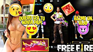 ENTRO Con La NUEVA M1014 DRAGÓN FLAMA VERDE *MAMASITA ME PIDE SER SU NOVIO* Épico FREE FIRE!!