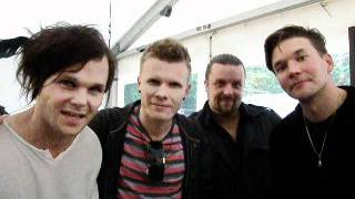 Video greetings from The Rasmus