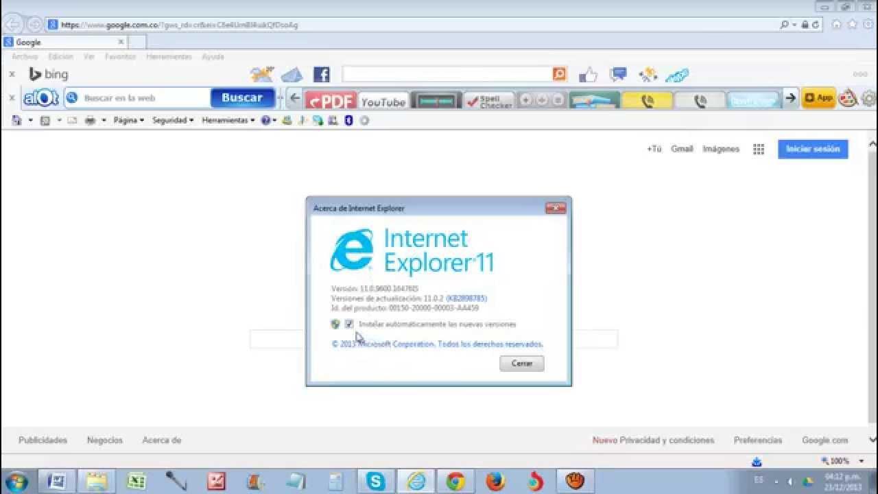 Como Saber Se O Beber Encaixou: Como Saber Que Internet Explorer Tengo