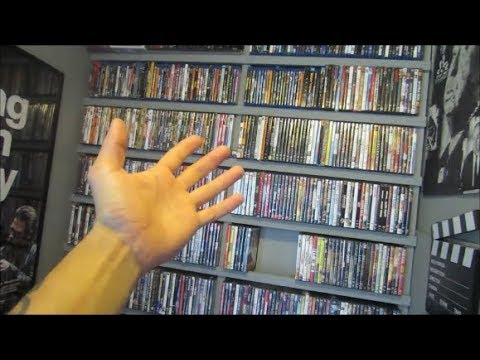 DIY $20 Bluray/DVD shelf  VS 1,000+ MOVIES