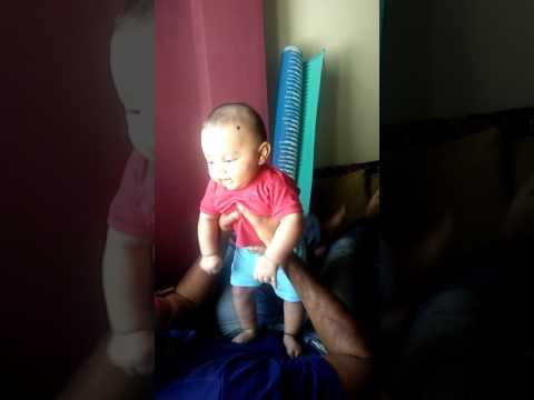 Baby Aditya's laughing Video