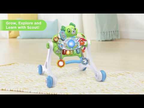 Scout's Get Up & Go Walker   Demo Video   LeapFrog®