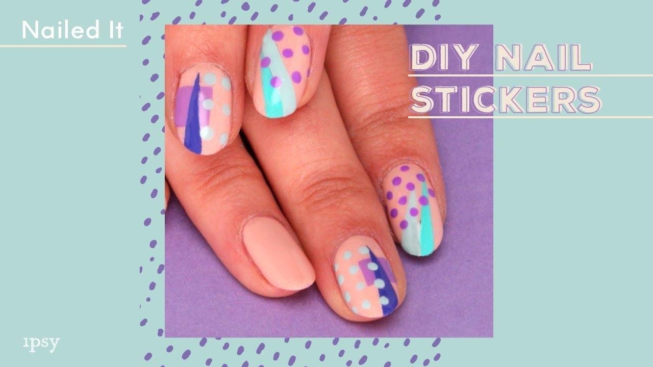 DIY Nail Stickers | ipsy Nailed It - YouTube