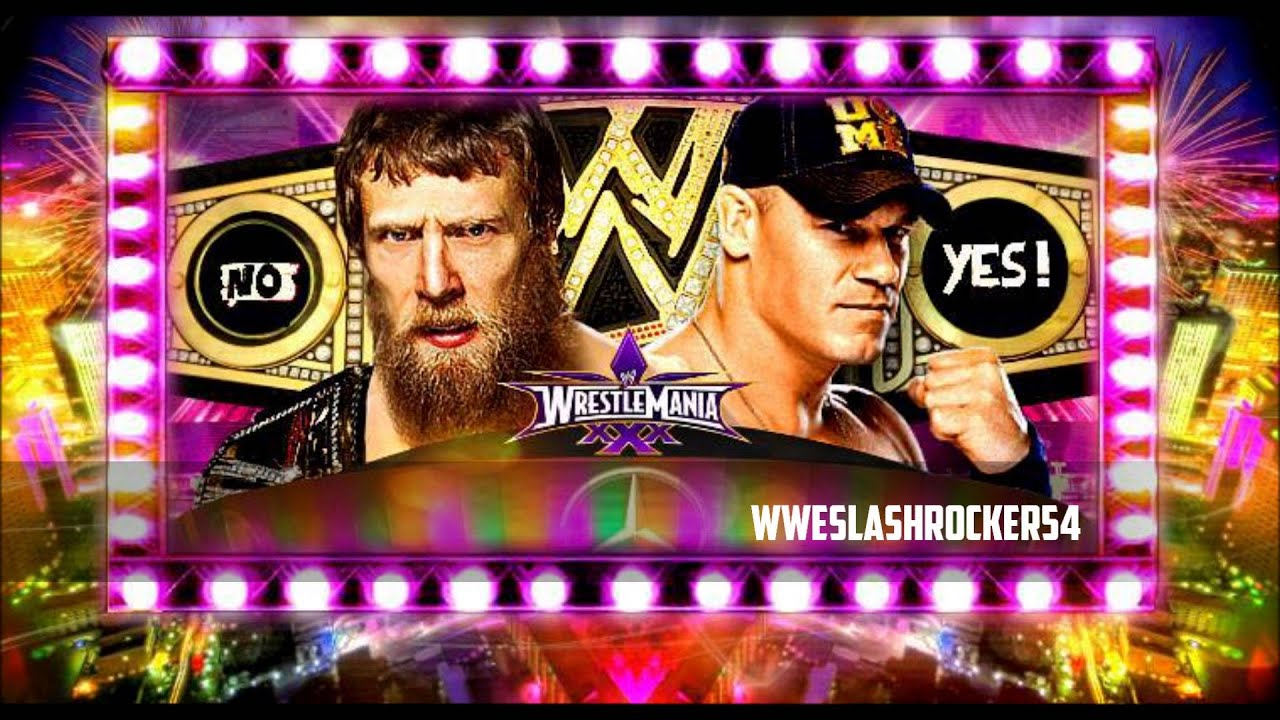 WWE Wrestlemania 30- Daniel Bryan vs John cena For the WWE ...Daniel Bryan Wrestlemania 30 Wallpaper