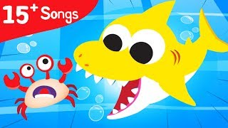 WHERE IS MY SHELL? Baby Crab lost his Shell | Baby Shark, Nemo, Dori | Ocean Animals by Little Angel