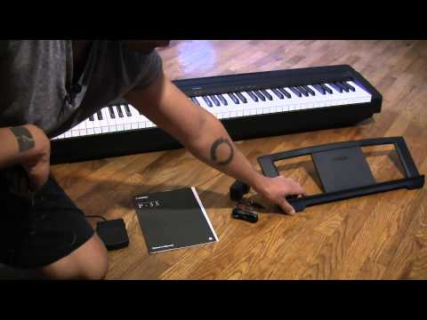 Yamaha P35 digital piano - Unboxing