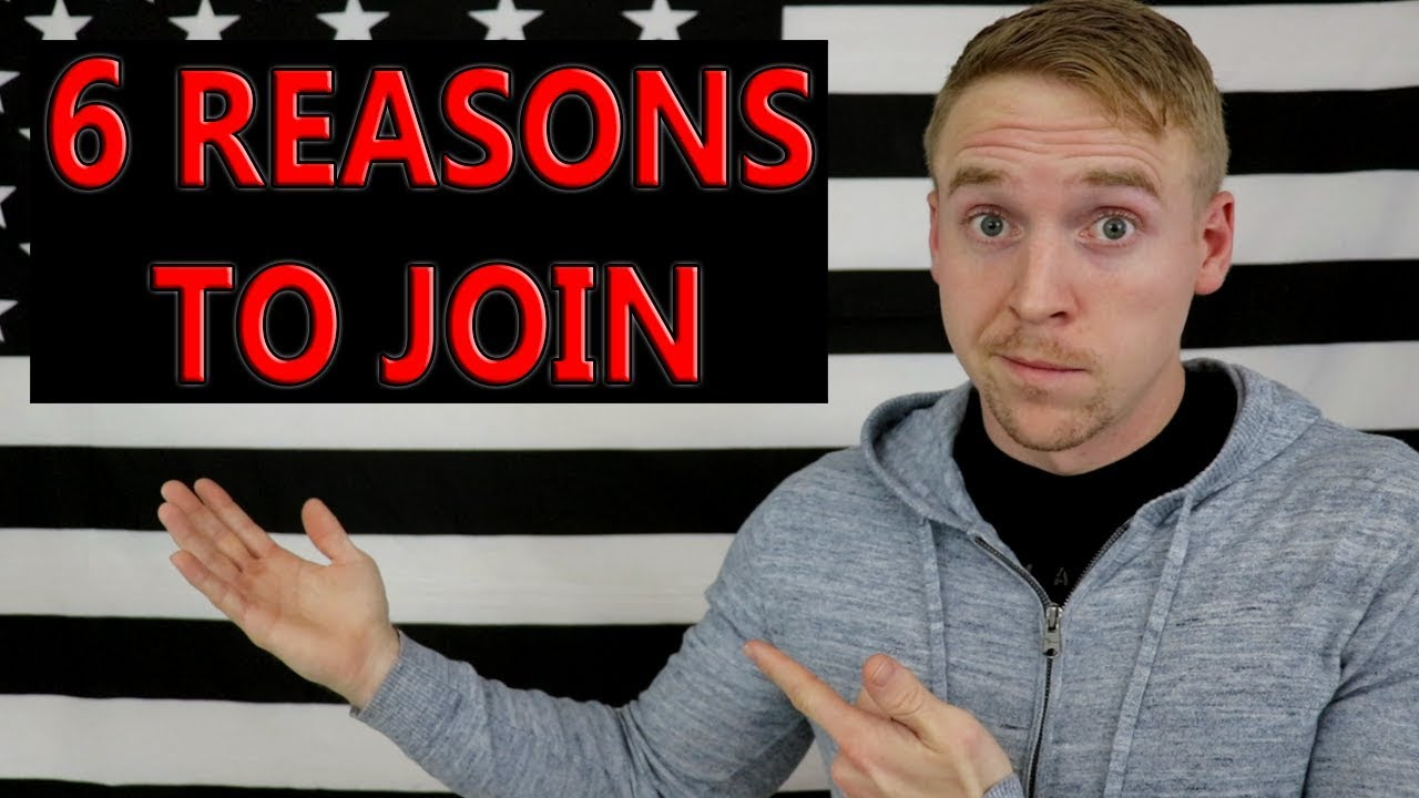why you should join the military In this video, i talk about 6 reasons to not join the military definitely, joining the services is a very honorable thing to do however, there are a great reasons to join but also great reasons.