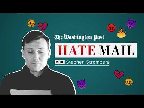 Download Youtube: Washington Post Hate Mail: Stephen Stromberg