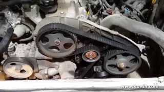 Слабое место в приводе ГРМ HYUNDAI H-1 2.5 Diesel(Сайт СТО