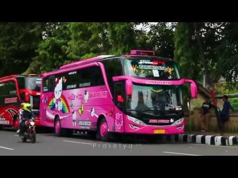 [BRISIK TAPI ASOY!!] Klakson Telolet Lagu Bus Dua Putri & Sumber Rejeki EM