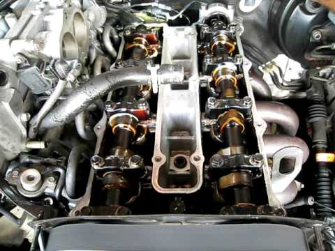 2000 Kia Sephia Engine Diagram 7 Pin Trailer Wiring 1998 Sportage Schematic Turning Ove With Valve Cover Off Youtube 2001