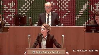 13.02.2020 - Rede Nadja Lüders - AfD und Thüringen - Landtag NRW 81. Sitzung