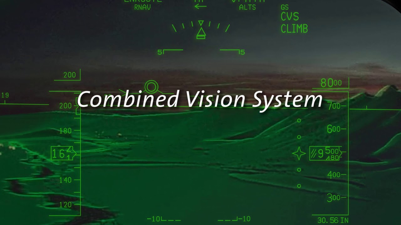 Rockwell Collins Combined Vision System Youtube
