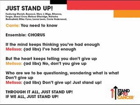 Just Stand Up! (Instrumental Karaoke) - Various Artists