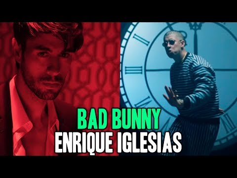 BAD BUNNY y ENRIQUE IGLESIAS en una NUEVA CANCION!