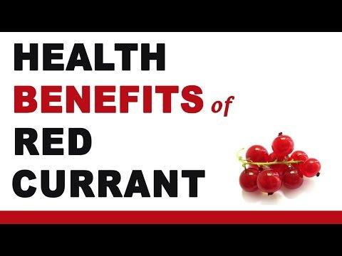 Health Benefits of Redcurrant
