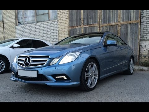 Выбираем б у авто Mercedes Benz E klasse Coupe 250 бюджет 1.100 1.200тр
